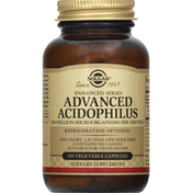 Solgar Acidophilus, Advanced, Vegetable Capsules