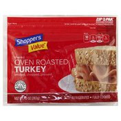 Shoppers Value Turkey, Oven Roasted, Shaved