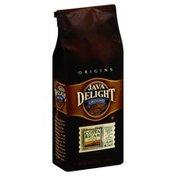 Java Delight Coffee, Ground, Light Roast, Costa Rican