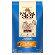 NUTRO Natural Choice Puppy Chiot Large Breed Chicken, Whole Brown Rice & Oatmeal Formula