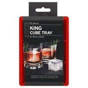 Tovolo Cube Tray, King, XL Silicone