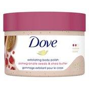 Dove Scrub Pomegranate & Shea Butter