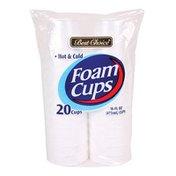 Best Choice 16-Ounce Foam Cups