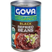 Goya Organic Refried Black Beans, Vegan
