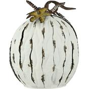 Pd Home & Garden Tin Open Bottom Pumpkin, 11.25 Inch