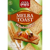 Paskesz Melba Toast, Whole Wheat