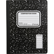 Top Flight Composition Book, Wide Rule, 100 Sheets