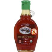 Shady Maple Farms Syrup, Thick 'N' Rich, Organic