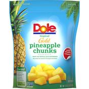 Dole Gold Tropical Pineapple Chunks Frozen Fruit