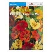 SB Nasturtium Fordhook Favorites Mix