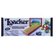 Loacker Wafer, Blueberry-Yoghurt