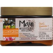 Maui Moisture Styling Gel, Curl Quench + Coconut Oil, Ultra Hold