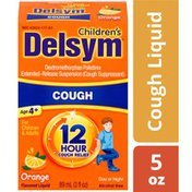 Delsym® Children's Cough Suppressant Liquid, Orange Flavor