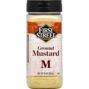 First Street Ground Mustard
