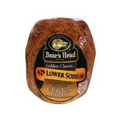 Boar's Head Golden Classic 42% Lower Sodium Oven Roasted Chicken Breast