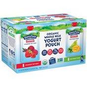 Stonyfield Organic Whole Milk Yogurt Pouch Variety Pack