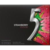 5 Gum Strawberry Flood Sugarfree Gum single