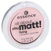 Essence Compact Powder, Fixing, Translucent Rose 10
