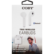 Coby Earbuds, True Wireless, Bluetooth