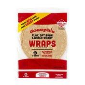 Joseph's Flax, Oat Bran & Whole Wheat Wraps