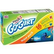 Yoplait Go-Gurt Strawberry Banana Burst/Blue Raspberry Ice Variety Pack Portable Low Fat Yogurt