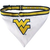 Pets First Small West Virginia Mountaineers Pet Collar Bandana