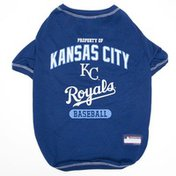 Pets First Large Kansas City Royals Dog Tee Shirts