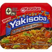 Maruchan Yakisoba, Spicy Teriyaki Beef Flavor