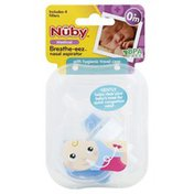 Nûby Nasal Aspirator, Breathe-eez, 0+ Months