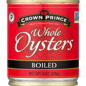 Crown Prince Oysters, Whole, Boiled