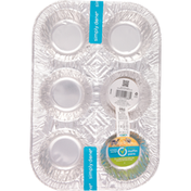 Simply Done Muffin Pans, 6 Count
