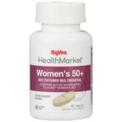 Hy-Vee Healthmarket, Women'S 50+ Multivitamin Multimineral Food-Based Blend Dietary Supplement Tablets