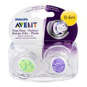 Avent Orthodontic Pacifiers Free Flow Fashion