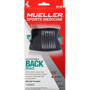 Mueller Back Brace, Adjustable, Maximum
