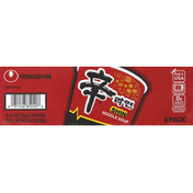 Nongshim Noodle Soup, Shin, 6 Pack