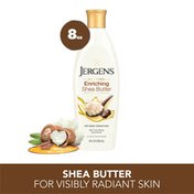 JERGENS Shea Butter Hand and Body Lotion for Dry Skin, Dermatologist Tested Moisturizer