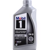 Mobil Motor Oil, Advanced Full Synthetic, 10W - 30