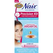 Nair Hair Remover, Precision Kit for Face & Upper Lip
