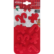 Trudeau Chocolate Molds, Gingerbread/Candy Cane