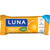 Luna Nutrition Bar, Whole, Tangerine Zest