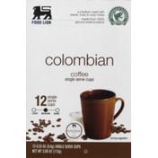 Food Lion Colombian Coffee Single Serve Cups