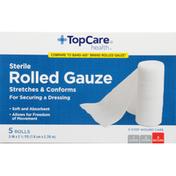 TopCare Rolled Gauze, Sterile