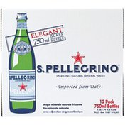 Pellegrino Sparkling Natural Mineral Water