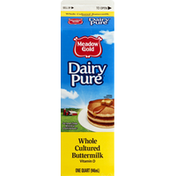 Meadow Gold Buttermilk, Cultured, Whole