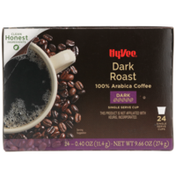 Hy-Vee Dark Roast 100% Arabica Coffee Single Serve Cups
