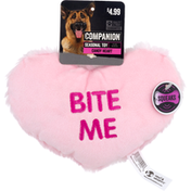 Companion Candy Heart Dog Toy