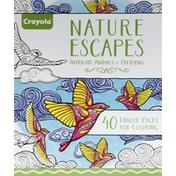 Crayola Pages for Coloring, Unique, Nature Escapes