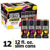 Bud Light Hard Seltzer Lemonade Variety Pack, Slim Cans