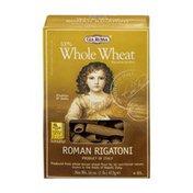 GIA 100% Whole Wheat Roman Rigatoni