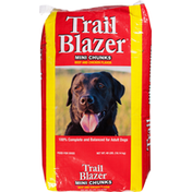 TrailBlazer Food for Dogs, Beef and Chicken Flavors, Mini Chunks